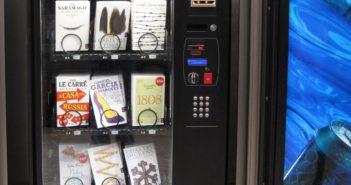 用好行為換代幣,到自動販賣機去⋯⋯買書!